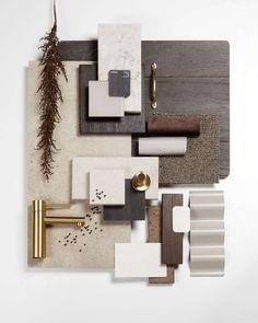 Mood Board Interior, Interior Design Boards, Moodboard Interior Design, Material Board, Mood And Tone, Co Working, Interior Architecture, Color Schemes, Collage