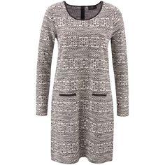 Damen Jacquard-Kleid