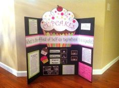 tri-fold poster project ideas - I like the name hanging ...
