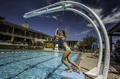 NCAquatics is an official distributor in Canada of AquaClimb climbing walls and Zip'N lines. Add new definition of fun to your swimming pool! www.ncaquatics.com