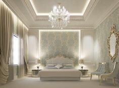 Private palace interior design - Dubai - UAE contemporary rendering