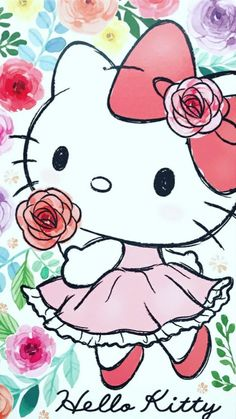 Wall paper unicorn hello kitty 26 ideas for 2019 Hello Kitty Drawing, Hello Kitty Art, Hello Kitty My Melody, Hello Kitty Items, Sanrio Hello Kitty, Hello Kitty Pictures, Kitty Images, Hello Kitty Backgrounds, Hello Kitty Wallpaper