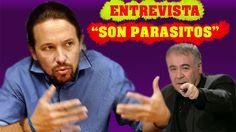 """Pablo Iglesias """"EL PP son PARASITOS, QUE SE CUELAN EN ESPAÑA"""" (INCREIBLE..."""