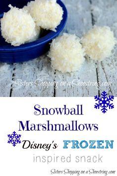 Snowball Marshmallows