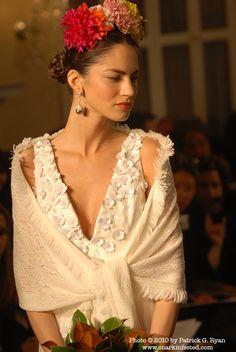 Frida Kahlo Inspired Wedding Dress