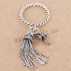 Thailand Sterling Silver Cuff Finger Ring Tassel open US Rin,china wholesale jewelry beads Semi Precious Beads, Sterling Silver Cuff, Ring Finger, Lampwork Beads, Wholesale Jewelry, Gemstone Beads, Beaded Jewelry, Tassel, Glass Beads