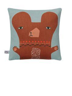 Baby Bear Mini Cushion by Donna Wilson