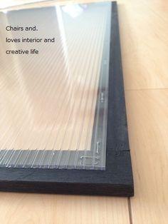 【訂正・追記あり】原状回復可能!DIYでおしゃれな内窓を作ろう!その② : Chairs and.ナチュラルなインテリアと雑貨と手作りと、日々のこと。