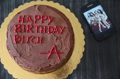 PLL inspired cake! #Birthday #bitch #A