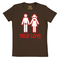 True Love T-Shirt, 17,90€, now featured on Fab.