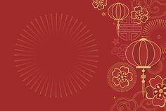 Chinese new year mockup illustration Free Vector - Chinese New Year Pictures, Chinese New Year Flower, Chinese New Year Poster, Chinese New Year Design, Chinese New Year Greeting, Chinese New Year 2020, New Years Poster, Happy Chinese New Year, Chinese New Year Background