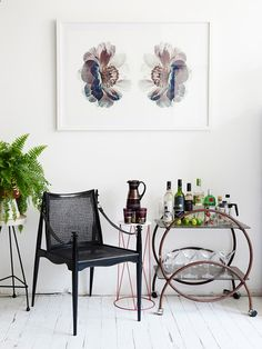 belly up to the bar cart / the design files