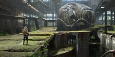 Abandoned Environment Concept tutorial by tiger1313 - digital environment concept painting