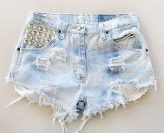 Как сделать джинсовые шорты рваными