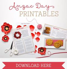 Celebrate Anzac Day with meaningful and educational activities using our free Anzac Day Printables. Great craft activity for kids to learn about Anzac Day. Remembrance Day Activities, Remembrance Day Art, Poppy Craft For Kids, Art For Kids, Craft Activities For Kids, Crafts For Kids, Educational Activities, Craft Ideas, Play Ideas