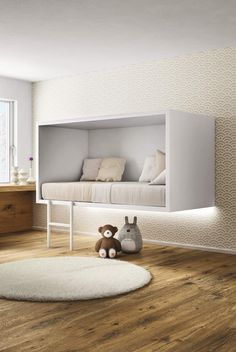 Cama simple suspensa CLOUD - Lago