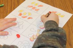 ABC's and Polka Dots: Lima Bean Addition