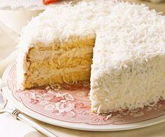 Paula Carson's Coconut Cake - FamilyCircle.com