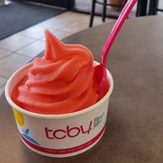 Needing a Monday pick-me-up? Visit your local #TCBY.  #froyo #mondaymotivation #summerisnotover