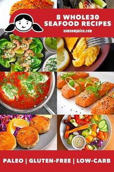 Are you trying to eat more seafood? Here's a roundup of easy, tasty, and healthy Nom Nom Paleo Whole30 Seafood Recipes! Great for breakfast, lunch, dinner snacks and January Whole30! Shellfish Recipes, Seafood Recipes, Indian Food Recipes, Ethnic Recipes, Dinner Recipes, Tandoori Fish, Whole30 Diet Recipes, Frozen Fish Fillets, Nom Nom Paleo