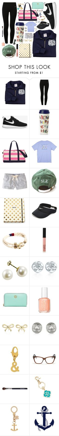 """//comfy//"" by whale-of-a-tale ❤ liked on Polyvore featuring NIKE, Kate Spade, Tommy Hilfiger, Southern Tide, Jack Wills, Icon Brand, NARS Cosmetics, Tiffany & Co., Tory Burch and Essie"