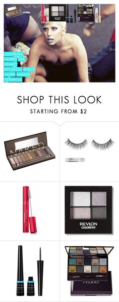 """""""Lady Gaga """"Marry The Night"""" Official Music Video Makeup Tutorial"""" by oroartye-1 on Polyvore featuring beauty, Urban Decay, COVERGIRL, Revlon, Rimmel, By Terry and Too Faced Cosmetics"""