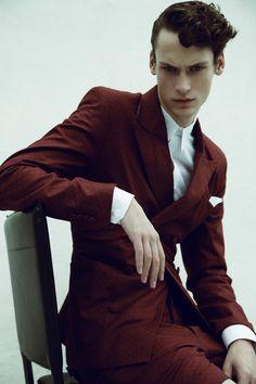 Matheus Ferreira Goes Dandy for Ferry Fashion Editorial ...