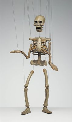 Skeleton -The Detroit Institute of Arts (DIA) Paul McPharlin Puppetry Collection
