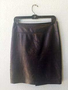 Cache black leather skirt 2 #black #cache #leather #skirt