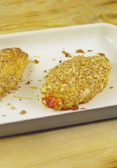 Healthy & Delicious Stuffed Chicken Breast Recipe With Almonds -