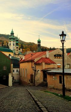 Banská Štiavnica, a town in central Slovakia located in the middle of an immense caldera created by the collapse of an ancient volcano Travel Goals, Vacation Travel, Medieval Town, Central Europe, Bratislava, Eastern Europe, World Heritage Sites, Croatia, Macedonia