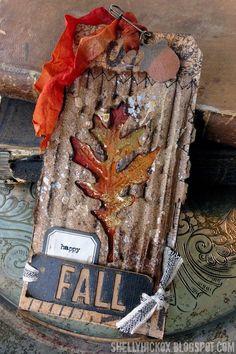 Stamptramp: Happy Fall! November Tag