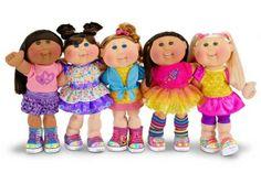The Cabbage Patch Kids- Babyland -little people born Retro Toys, Vintage Toys, Vintage Stuff, Muñecas Cabbage, Cabbage Patch Kids Dolls, Santa Outfit, 80s Kids, Kids Girls, Bratz Doll