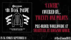 It's beautiful. My chemical romance's Cancer covered by twenty one pilots.