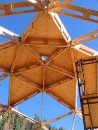 Znalezione obrazy dla zapytania plywood dome