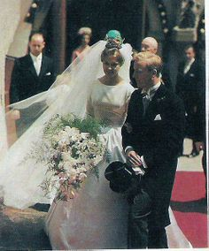 Suécia - 1961 Birgitta & Johann Georg von Hohenzollern Sigmaringen