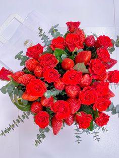 Студия подарков Апельсин, Цветы Strawberry, Fruit, Strawberry Fruit, Strawberries, Strawberry Plant