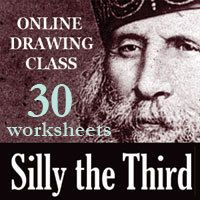 Online Class 30 SILLY Worksheets PDF | Carla Sonheim
