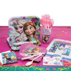Disney Frozen Birthday Party Supplies Set