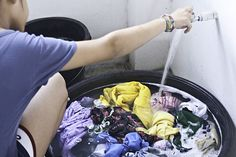 How to Wash Clothes by Hand: 12 steps (with pictures) - Save money and energy!