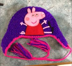 1000+ images about crochet peppa on Pinterest Peppa pig ...