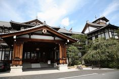 This classic hotel opened in 1909 and is one of Japan's most famous hotels. Hotels, Cabin, Mansions, House Styles, Classic, Design, Decor, Derby, Decoration