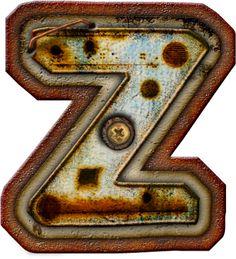 CH.B *✿* Alfabeto metal oxido..Z