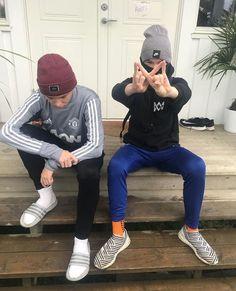 Our mood atm is🤪 Boys Socks, Twin Brothers, Super Skinny, Cute Boys, Ariana Grande, Lifestyle Blog, Boyfriend, Hipster, Husband