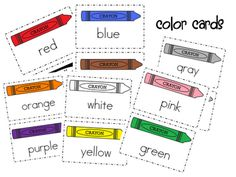 Wills Kindergarten: Color words for the classroom FREEBIE Kindergarten Colors, Preschool Colors, Teaching Colors, Kindergarten Literacy, Preschool Activities, Teaching Ideas, Montessori Elementary, Color Activities, Educational Activities