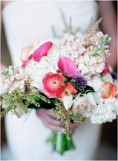bright and whimsical bouquet!