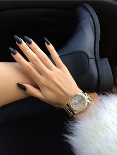 50 Nail Design Black Ideas – The Infinite Possibilities Of Nail ...