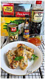 Ewa w kuchni: Sajgonki z kurczakiem Meat, Chicken, Food, Essen, Meals, Yemek, Eten, Cubs