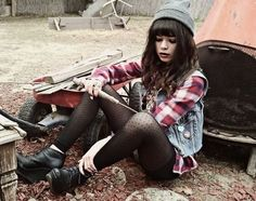 Grunge fashion cute style on Pinterest | Grunge, Cute Hipster Outfits…