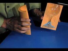 Sugar Glass Video: How To Make Sugar Martini, Champagne & Wine Glasses